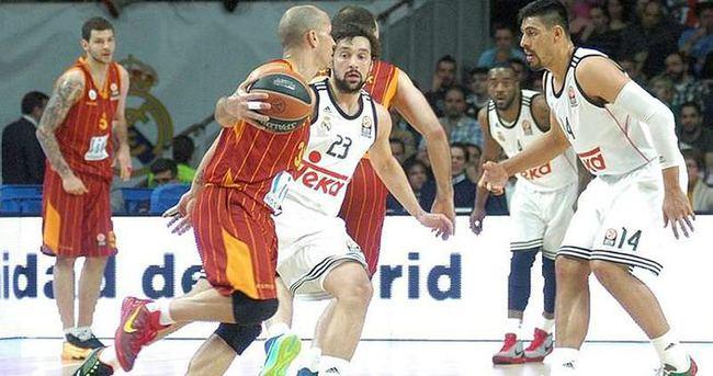 Euroleague'de Galatasaray'ın rakibi Real Madrid