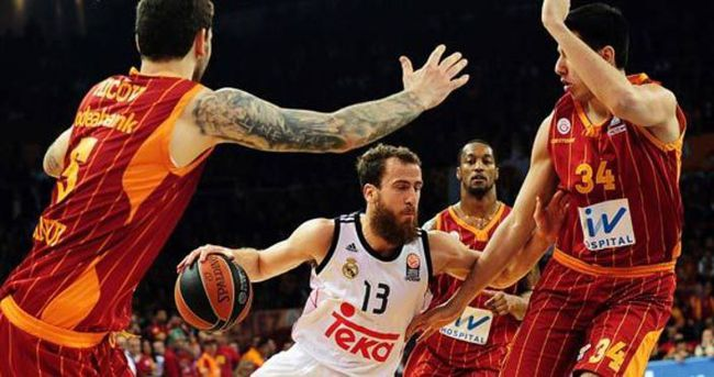Galatasaray-Real Madrid: 71-107 (Maç sonucu)