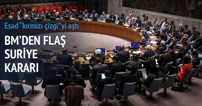 BMGK'dan Suriye'ye kınama