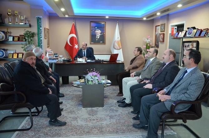 Şuhut Devlet Hastanesi Yöneticilerinden Başkan Bozkurt'a Ziyaret