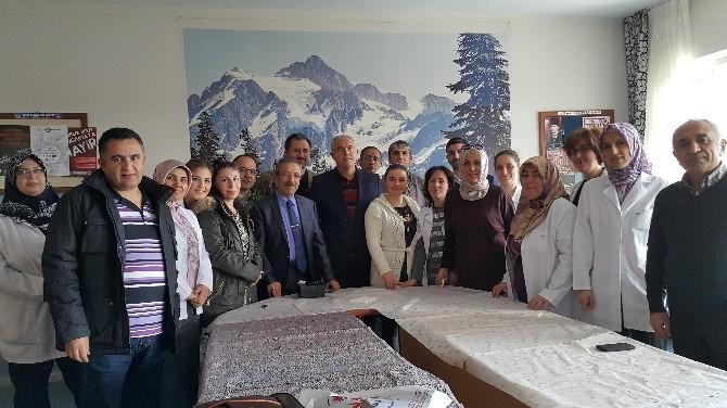 Aksaray'da Öğretmenler Kaynaşma Yemeğinde Bir Araya Geldi