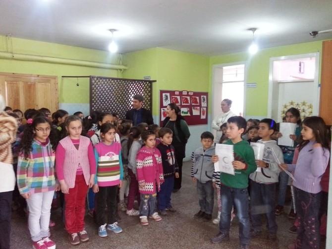 Cumhuriyet İlkokulu'nda Yeşilay Haftası Kutlandı