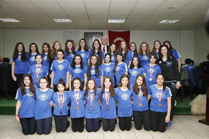 Odunpazarıspor'un Şampiyonlukları Kutlandı
