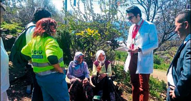 Hasta ve yaşlıya yardım eli uzandı