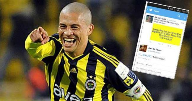 Alex de Souza Twitter'ı salladı!