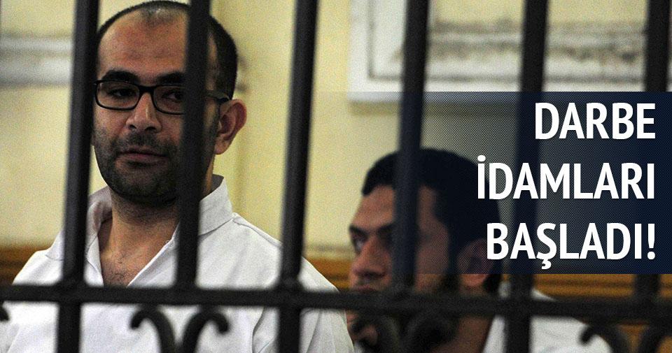 Mısır'da darbe idamları başladı