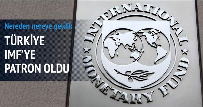Türkiye IMF'nin patronu oldu!