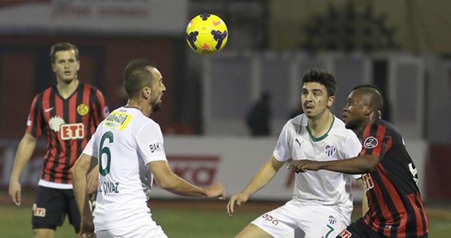 Eskişehirspor ile Bursaspor yenişemedi