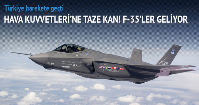 F-35'ler geliyor! Türkiye harekete geçti!