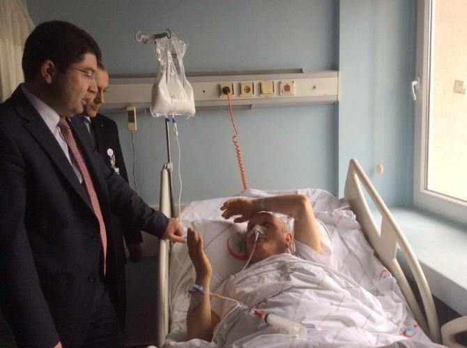 Milletvekili Yılmaz Tunç Hastaları Ziyaret Etti
