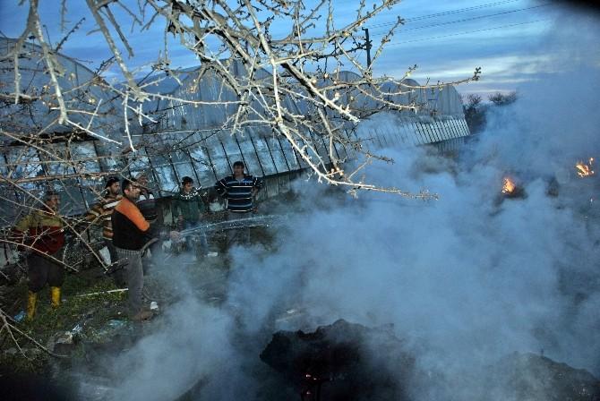 Demre'de Arazi Tartışması Yangına Neden Oldu