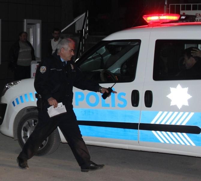 Pompalıyla Husumetlisini Vuran Şüpheli Hastane Çıkışında Gazetecilere Şov Yaptı
