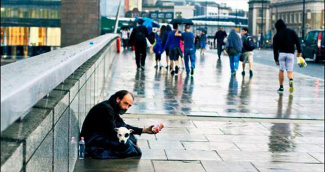 İngiltere'de evsizler artıyor
