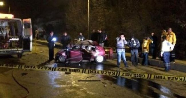 Kastamonu'da feci kaza! Kafa kafaya çarpıştılar