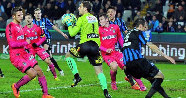 Brugge'den tek gollü galibiyet