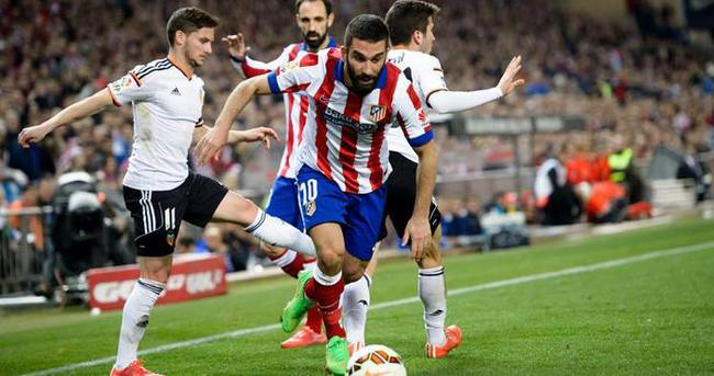 Atletico Madrid Valencia maçı özeti ve golleri