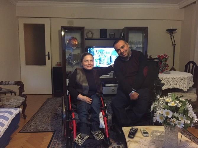 Ahmet Uğur Baran, Kadınlar Gününde Engelli Vatandaşları Unutmadı