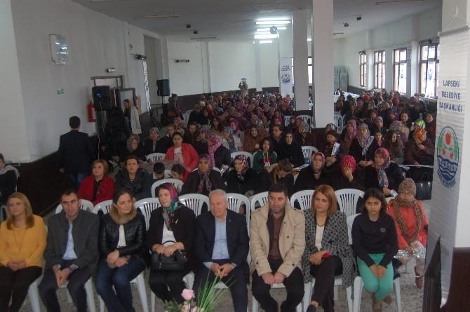 Lapseki'de 8 Mart Kadınlar Günü Kutlamaları
