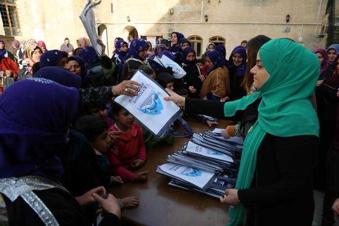 Eyyübiye Belediyesi'nden Anlamlı Kadınlar Günü Kutlaması