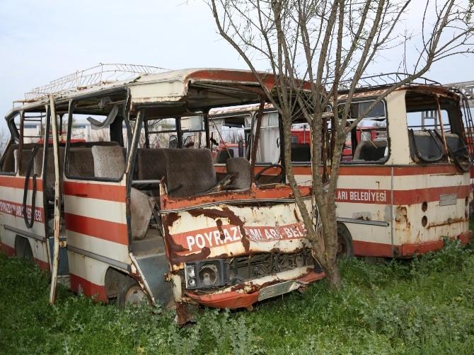 Manisa'nın Hurda Araç Filosu Şaşırttı