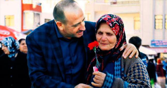 Başkan Duruay 8 Mart'ta kadınları unutmadı