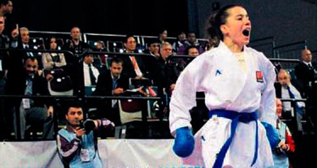 Milli karateci Serap'ın hedefi tarihe geçmek
