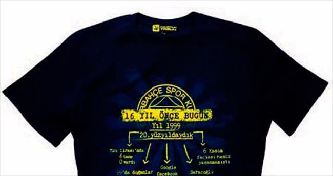 Fenerbahçe'den tişörtlü gönderme