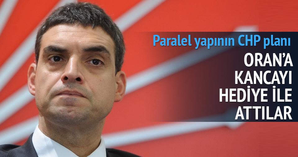 Paralelciler CHP'li Oran'a hediyeyle kanca attılar