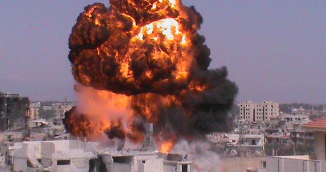 Koalisyon IŞİD rafinerisine bomba yağdırdı