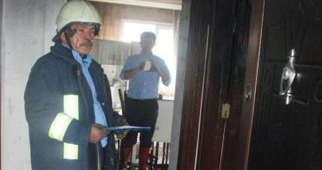 Osmaniye'de bir apartmanda yangın çıktı