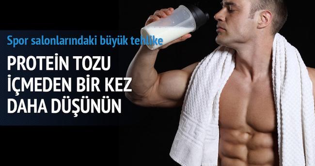 Protein tozu içmeden bir kez daha düşünün!