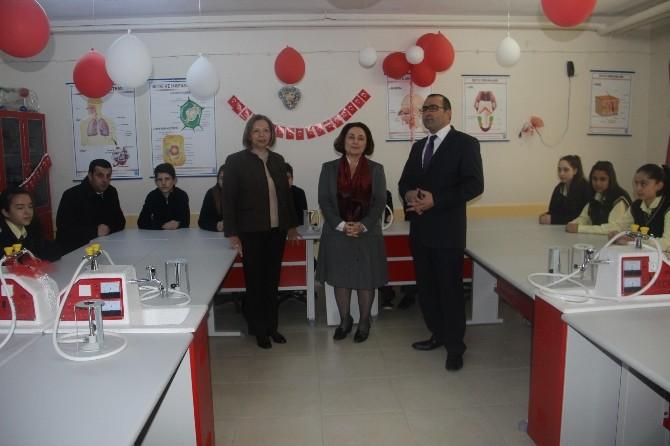 Edirne'de Fen Ve Teknoloji Sınıfı Açıldı