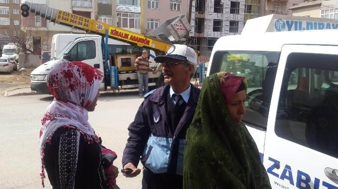 Seydişehir Zabıtasından Dilenci Operasyonu