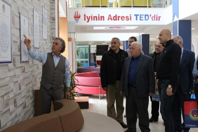 TED'e 28 Yıl Aradan Sonra Anlamlı Ziyaret
