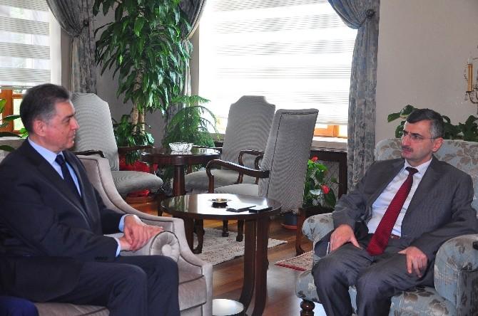 Tunus Büyükelçisinden Vali Bektaş'a Ziyaret