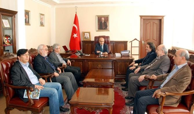 Türkiye Yazarlar Birliği'nden Vali Demirtaş'a Ziyaret
