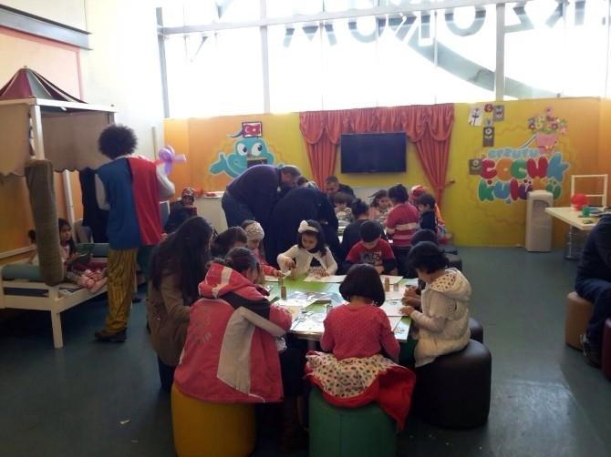 Yeşilay, Forum Erzurum'da Çocuklarla Buluştu
