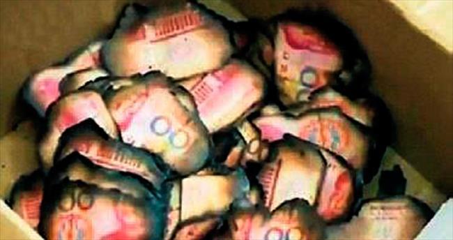 Sobada sakladığı 80 bin lirayı yaktı