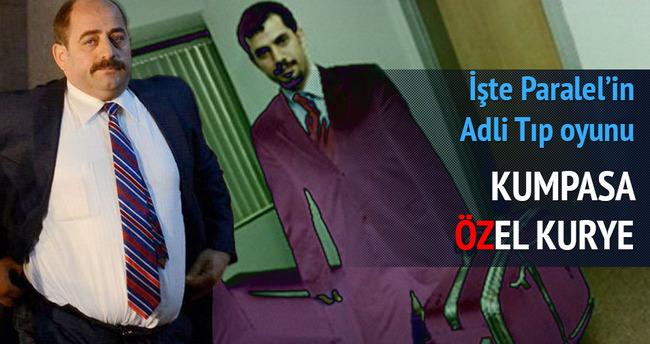 Belge Baransu'dan teslimat Öz'den