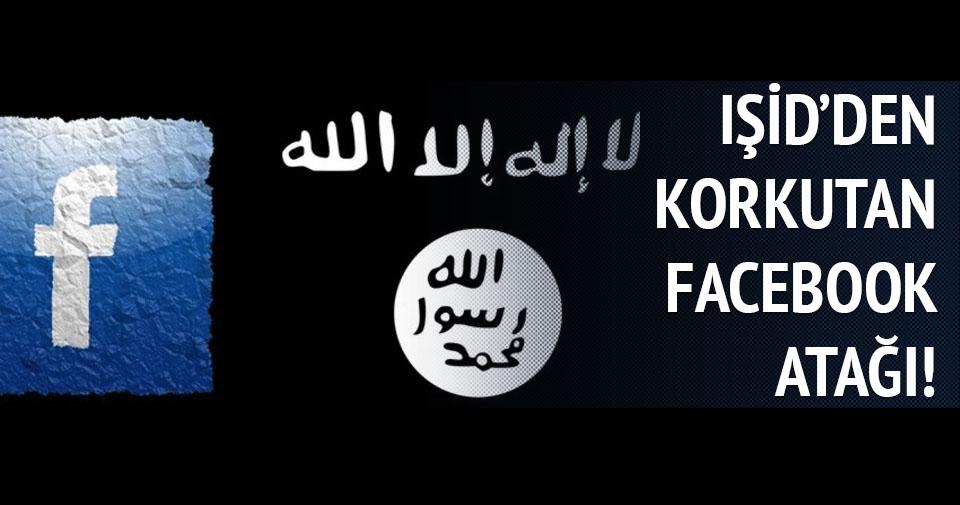 IŞİD Facebook'a el attı