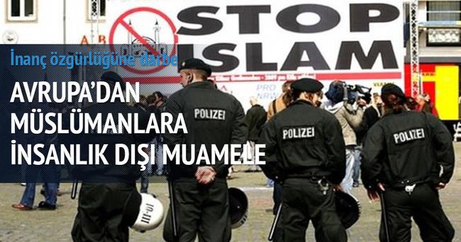 Fransa polisinden inanç özgürlüğüne aykırı muamele