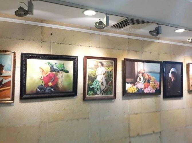 Adana'da Ressamlardan Mart'ın Sekizi Sergisi