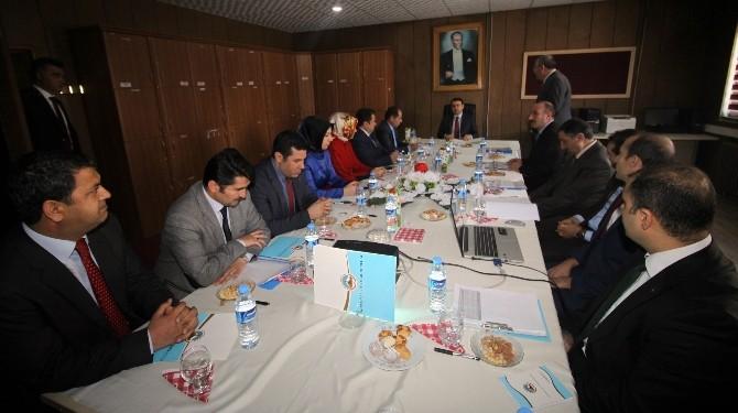 Vali Işın'dan Milli Eğitim Müdürlüğü'ne Ziyaret