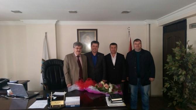 Özkan'dan Esnaf Odası Başkanına Ziyaret