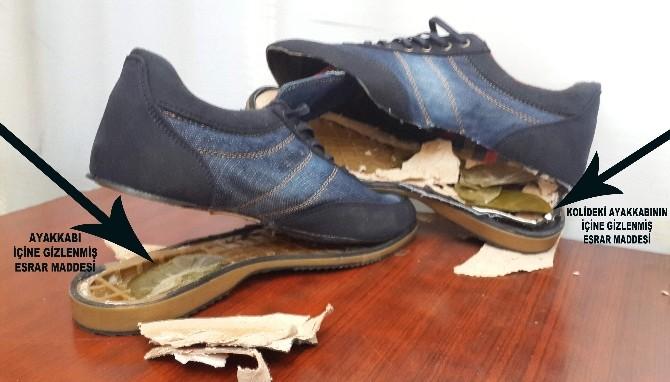 Ayakkabı Arasında Cezaevine Esrar Siparişi 'Besin'e Takıldı