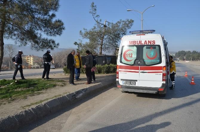 Osmancık'ta Trafik Kazası: 1 Yaralı