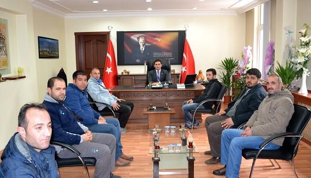Doganşehirspor'dan Kaymakama Ziyaret