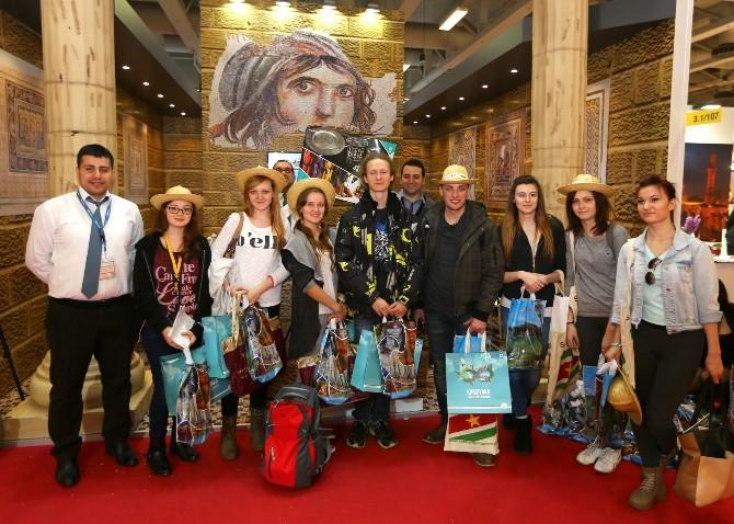 Dünyanın Gözde Turizm Fuarında Gaziantep Hedefine Ulaştı