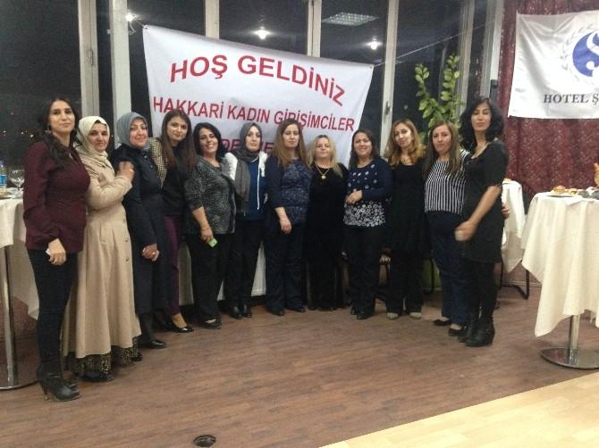 Kadın Girişimciler Derneği Üyeleri Bir Araya Geldi