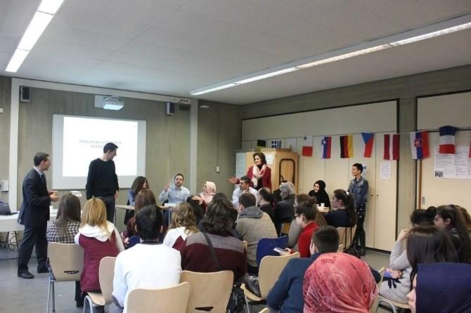 Kulalı Öğrenciler Almanya'dan Döndü